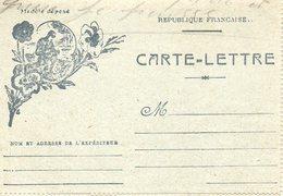 L- --Poilu-Pensées--- - Cartes De Franchise Militaire
