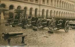 #230619A - GUERRE MILITARIA - 1914 1918 CARTE PHOTO Canon Allemand De 77 - Armes Prises à L'ennemi Avion - Guerre 1914-18
