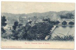 General View Of Kandy - Sri Lanka (Ceylon)