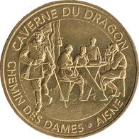 02 CLOVIS LE VASE DE SOISSONS MÉDAILLE MONNAIE DE PARIS 2019 JETON TOKENS MEDALS COINS - 2019