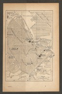 CARTE PLAN 1921 MAROC MOROCCO - CASABLANCA - PROTECTORAT FRANCAIS - BASE De RAVITAILLEMENT MAROCAINE RESIDENCE GENERALE - Topographische Kaarten