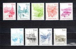 MONACO N° 1510 à 1518  NEUFS SANS CHARNIERE COTE 8.80€   MONACO AUTREFOIS - Nuovi