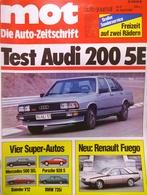 CA144 Autozeitschrift Mot Auto-journal, Nr. 8/1980, Porsche 928 S, Neuwertig - Automóviles & Transporte