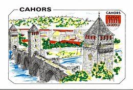 46 CAHORS DESSIN - Cahors