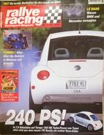 CA146 Autozeitschrift Rallye Racing, Nr. 7/1998, VW-Beetle Testbericht, Neuwertig - Auto & Verkehr