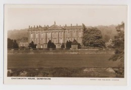 AI43 Chatsworth House, Derbyshire - RPPC - Derbyshire