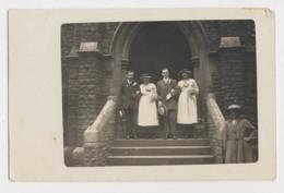 AI44 RPPC Wedding Photo? Bride And Grooms Parents?? - Photographs