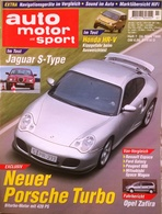 CA148 Autozeitschrift Auto Motor Und Sport, Nr. 7/1999, Porsche 911 Turbo, Neuwertig - Auto & Verkehr