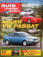 CA149 Autozeitschrift Auto Motor Und Sport, Nr. 14/1996, Ferrari F 133, VW Passat, Porsche Boxster, Neuwertig - Auto & Verkehr