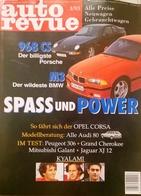 CA150 Autozeitschrift Auto Revue, Nr. 4/1993, Porsche 968 CS, Audi 80, Jaguar XJ 12, Neuwertig - Auto & Verkehr