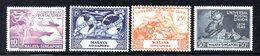 296 - SINGAPORE 1949 , La Serie UPU INTEGRA  ***  MNH (2380A) . - Singapore (...-1959)