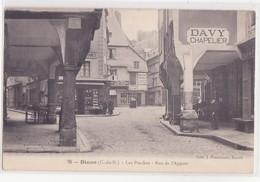 CPA - 76. DINAN - Les Porches, Rue De L'apport - Dinan