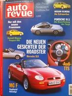 CA154 Autozeitschrift Auto Revue, Nr. 11/1995, Porsche 911 Targa, Neuwertig - Auto & Verkehr