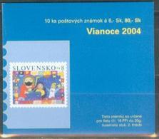 SK 2004 EASTER, SLOVAKIA, BOOKLET, MNH - Slowakische Republik