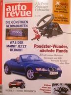 CA155 Autozeitschrift Auto Revue, Nr. 12/1996, BMW Z3, Mercedes SLK, Porsche Boxster, Lotus Elise, Neuwertig - Automóviles & Transporte
