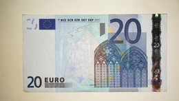 Euro Finland 20 EURO L/P011 Sign Trichet - EURO