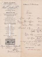 1910 ST DENIS. PAUL DUBOS & CIE. Bétons Agglomérés, Polychromes. - France
