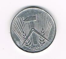//   D.D.R. 5 PFENNIG  1952 A - [ 6] 1949-1990 : RDA - Rép. Démo. Allemande