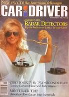 CA156 Autozeitschrift Car And Driver, November 1982, Englisch, Golf GTI, Pontiac, Buick, Chevy S-10 - Transportation