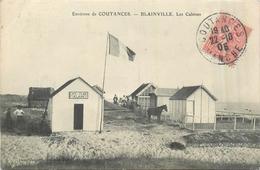 50 BLAINVILLE SUR MER  Les Cabines   2scans - Blainville Sur Mer