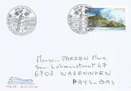 Mayotte 2004 Sada Bay Geology Lighthouse FDC Cover - Covers & Documents