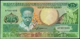 SURINAME - 25 Gulden 09.01.1988 UNC P.132 B - Suriname