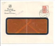 Nothilfe 1932. 12+3Pf EF. Linoleum-Werke Bietingheim 26.1.33 - Allemagne