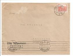 Nothilfe 1932. 12+3Pf EF. Hamburg Hand- Und Bandstempel 4.1.33 - Allemagne