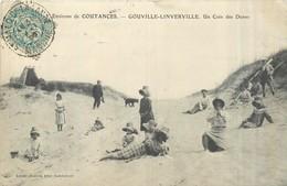 50 GOUVILLE LINVERVILLE  Un Coin Des Dunes    2scans - Autres Communes