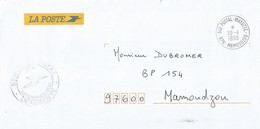 Mayotte 1999 Sce Postal Mayotte Mamoudzou Unfranked Domestic Cover - Covers & Documents