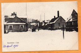 Hessleholm Sweden 1900 Postcard - Sweden