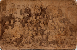 Chagny Saône-et-Loire - Photo De Groupe Vers 1902 Par Denizot -  Voir Les 2 Scans - Old (before 1900)