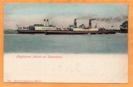 Angfarjorna Malmo Och Kjobenhavn Sweden 1900 Postcard - Sweden