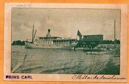 Prins Carl  Sweden 1907 Postcard - Sweden