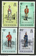 Ascension - 1973 Royal Marines  MNH **     SG 174-7   Sc 173-6 - Ascension