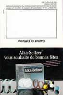 Calendrier °° 1992 - Pharma Neuf - Pub Alka Seltzer - 7x10 - Calendari