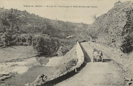 SAINT-JULIEN-DES-CHAZES  Route De Chautanges  1905/14 - Francia