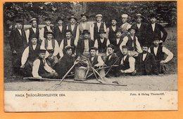 Haga Tradgardselever Sweden 1904 Postcard - Sweden