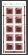 Bund: Kongress Philatelistenverband MiNr. 1065 KB Kleinbogen 1980 ** Postfrisch / MNH / Neuf - BRD