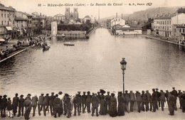 RIVE - De - GIER  - Le Bassin Du Canal - - Rive De Gier