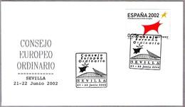 CONSEJO EUROPEO ORDINARIO - SEVILLA 2002. Extraordinary European Council. Andalucia - Instituciones Europeas