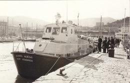"PHOTO 14./9.CMS CANOT DE LA SNSM "" JOANNES NOEMI "" EN 1976 .A PORT VENDRES.T.B.ETAT .A SAISIR .PETIT PRIX. - Barcos"