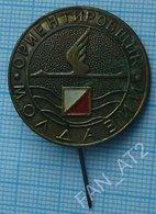 USSR / Badge / Soviet Union / Moldavia. Moldova. Orienteering 1970s - Badges