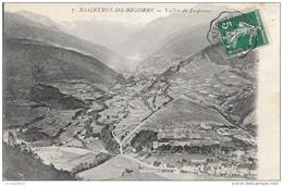 CACHET FERROVIAIRE N° 557 II R BAGNERES DE BIGORRE A TARBES - Railway Post