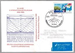 50 Años II AÑO POLAR INTERNACIONAL. Erfurt 1983 - Año Polar Internacional