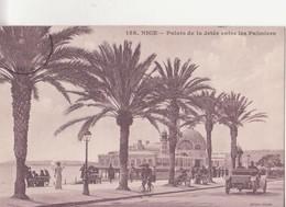 CPA - 158. NICE - Palais De La Jetée Entre Les Palmiers - Monumenten, Gebouwen