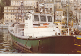 "PHOTO 14.3./9.5.CMS CANOT DE LA SNSM "" JEAN RAMELLI "" EN 1980 .A PORT VENDRES.T.B.ETAT .A SAISIR .PETIT PRIX. - Bateaux"