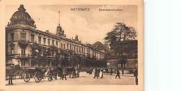 CPA Kattowitz - Eisenbahdnirektion - Polonia
