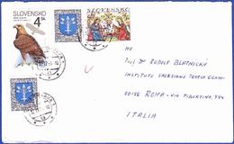 Cover - Slovakia To Roma, Itália / Postmark - TRNAVA?, 1994 - Slovaquie
