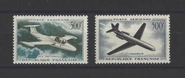 FRANCE.  YT PA  N° 35-36  Neuf **   1957 - Airmail